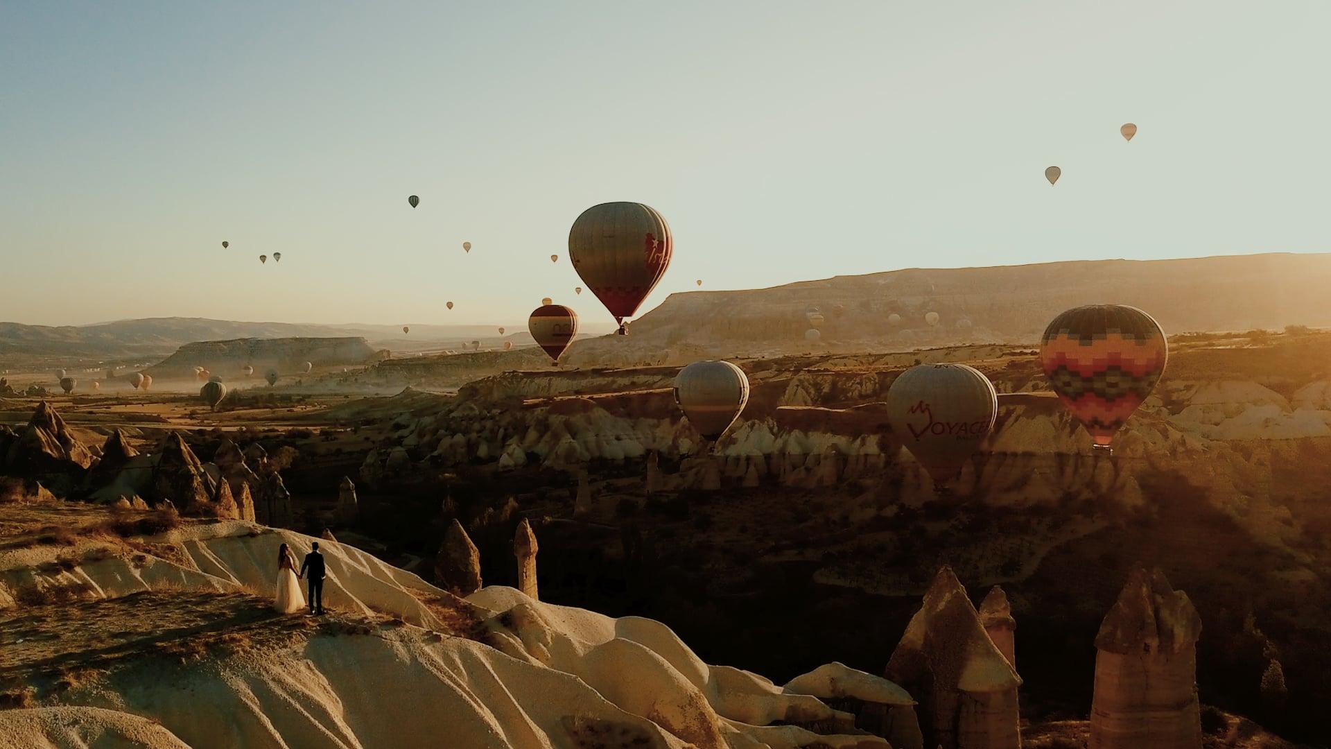 Destination wedding in Cappadocia - Turkey